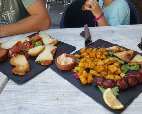 vakantie eten tapas