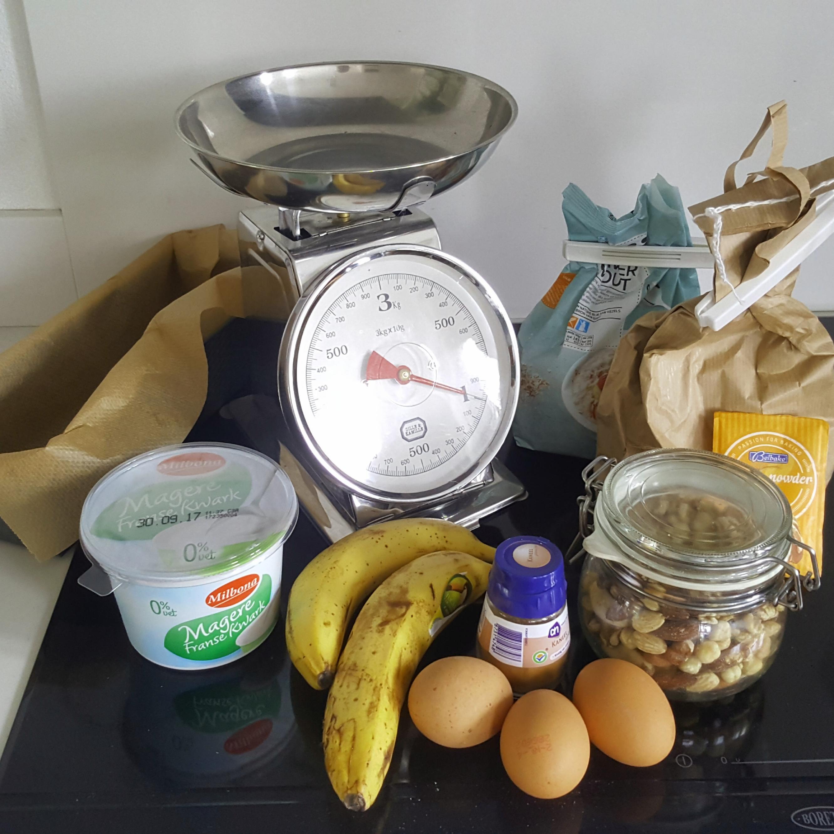 ingredienten bananenbrood