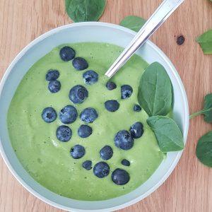 groene smoothie bowl smoothiebowl fit met ingrid